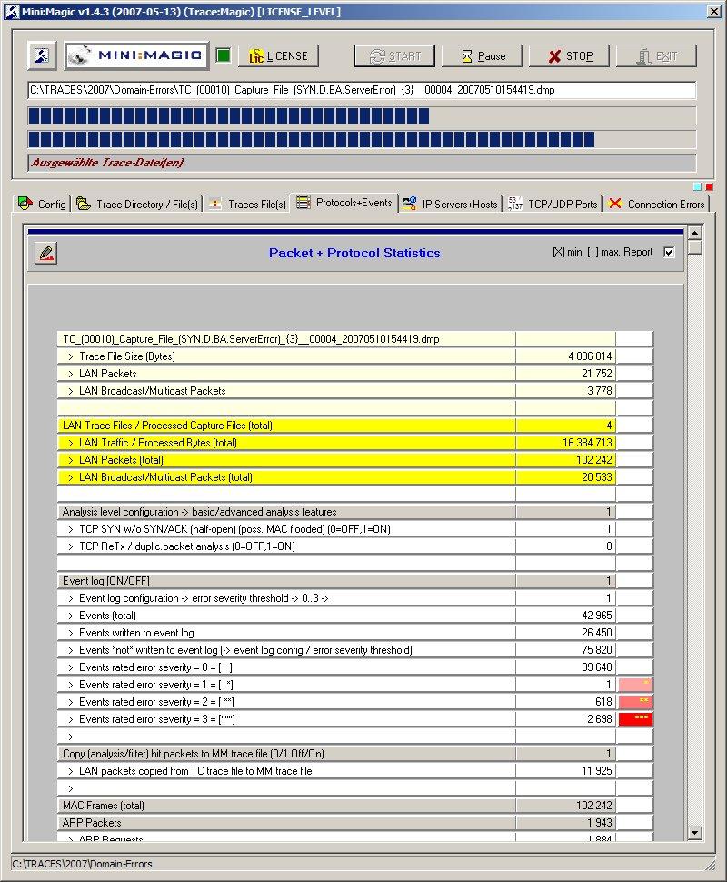 MiniMagic analysiert schwere Domain-Fehler (DNS,LDAP/AD,Kerberos,Windows-Authentication)